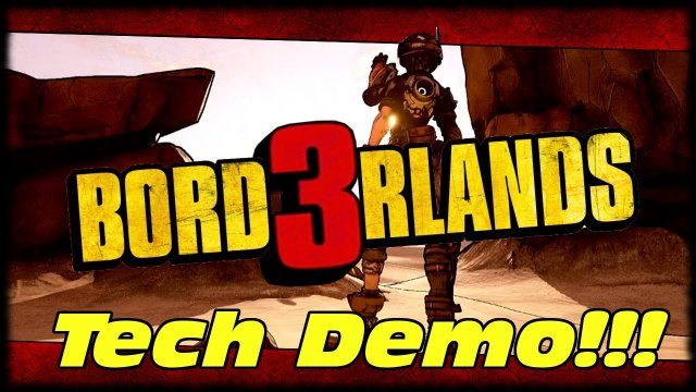 Borderlands 3 Art Style & Tech Demo Revealed!!! Borderlands 3 First Look At In Game Assets!!!