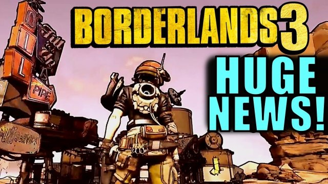 HUGE BORDERLANDS 3 NEWS! | GDC 2017 Tech Demo