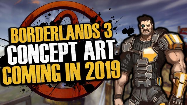 Borderlands 3 Concept Art Is Coming In 2019