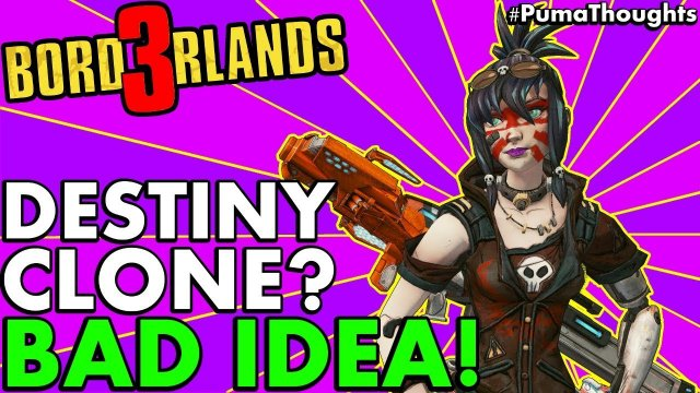 Video Response: What Will Borderlands 3 Look Like in a Post-Destiny World? (A Destiny Clone?)
