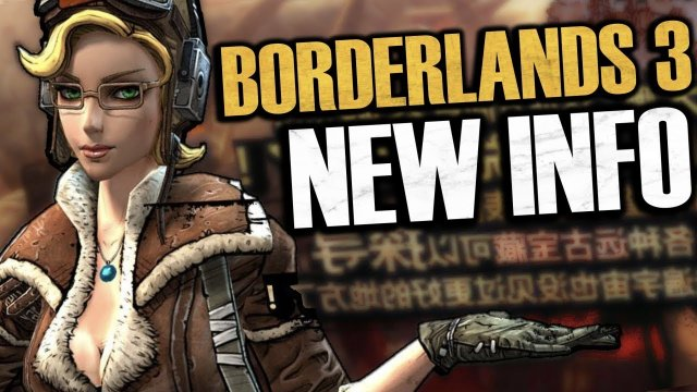 Borderlands 3 NEW INFO! BL3 Won't Be At E3, Randy Pitchford Calls BL3 The Next Half-Life 3, & More!