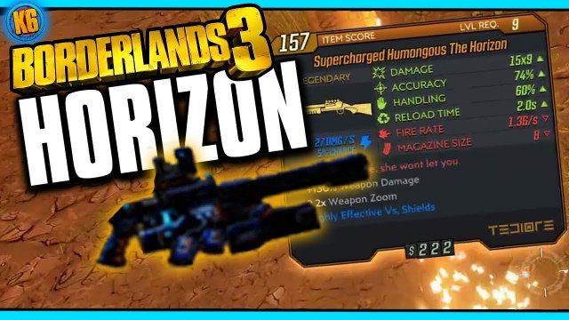 Borderlands 3 - New Legendary - HORIZON