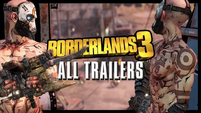 Borderlands 3 - All Character, Planet, & Gameplay Trailers
