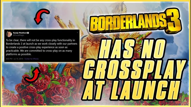 Borderlands 3 Crossplay NOT Available at Launch