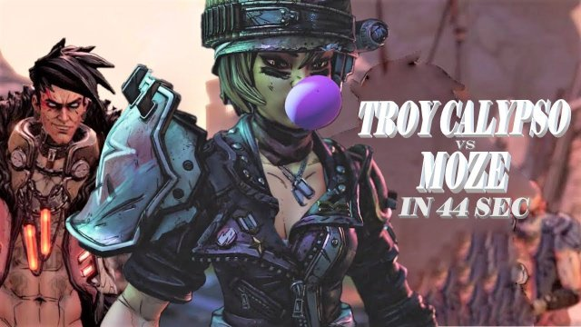 Borderlands 3: Troy Calypso vs Moze 44 sec TVHM Mayhem 3