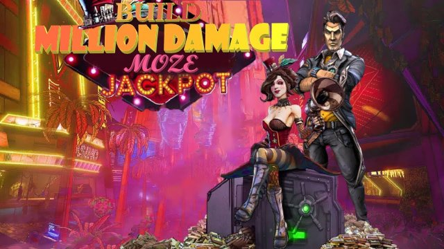BORDERLANDS 3 DLC:BUILD MOZE MILLION DAMAGE  TVHM/MH4