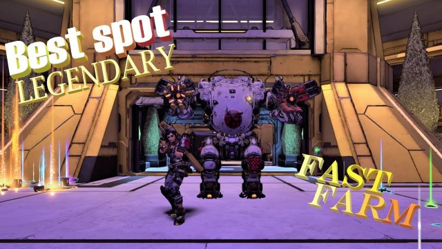 borderlands 3: EASY LEGENDARY FARM TVHM/MH4