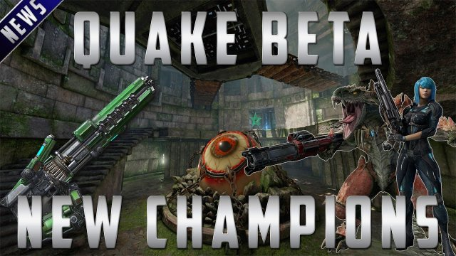 Quake Champions -  BETA, Weapons and Champions!